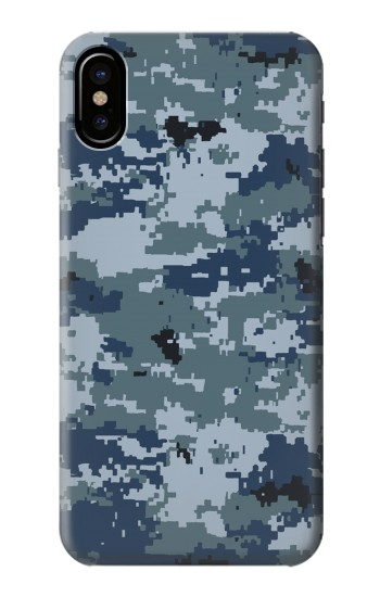 Printed Navy Camo Camouflage Graphic HTC One M9+ Case
