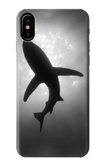 Printed Shark Monochrome HTC One M9+ Case