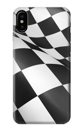 Printed Checkered Winner Flag HTC One M9+ Case