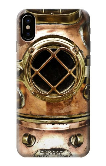 Printed Vintage Deep Sea Diver Helmet HTC One M9+ Case