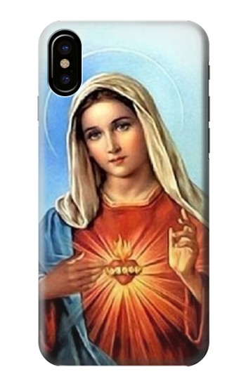 Printed The Virgin Mary Santa Maria HTC One M9+ Case