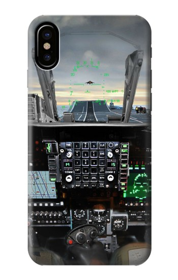 Printed Fighter Jet Aircraft Cockpit HTC One M9+ Case