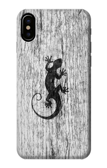 Printed Gecko Wood Graphics Printed HTC One M9+ Case