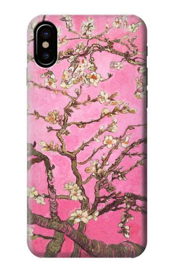 Printed Pink Blossoming Almond Tree Van Gogh HTC One M9+ Case