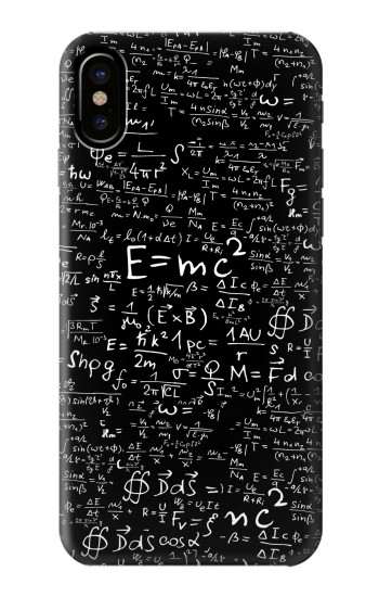 Printed Mathematics Physics Blackboard Equation HTC One M9+ Case