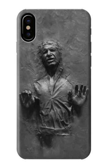 Printed Han Solo Frozen in Carbonite HTC One M9+ Case