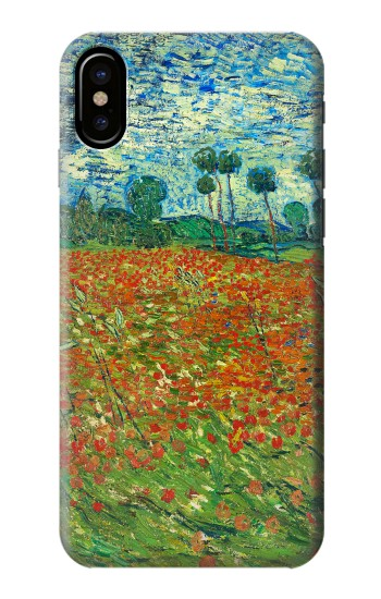 Printed Field Of Poppies Vincent Van Gogh HTC One M9+ Case