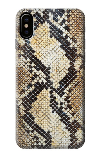 Printed Snake Skin Texture HTC One M9+ Case