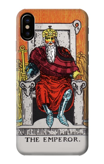 Printed Tarot Card The Emperor HTC One M9+ Case