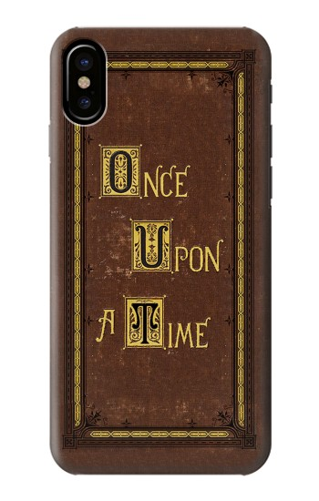 Printed Once Upon a Time Book Cover HTC One M9+ Case