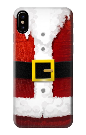 Printed Christmas Santa Red Suit HTC One M9+ Case