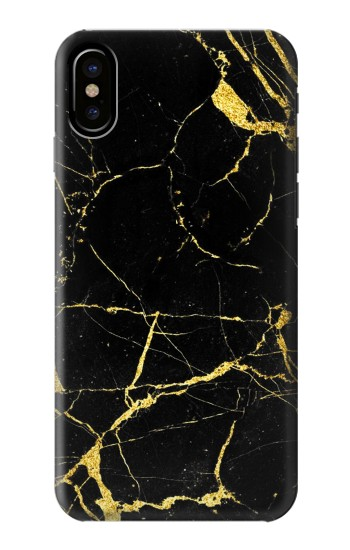 Printed Gold Marble Graphic Printed HTC One M9+ Case