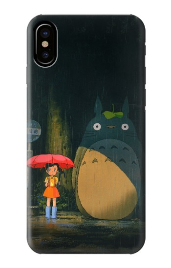 Printed Totoro Bus Stop HTC One M9+ Case