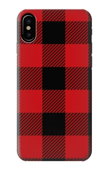 Printed Red Buffalo Check Pattern HTC One M9+ Case