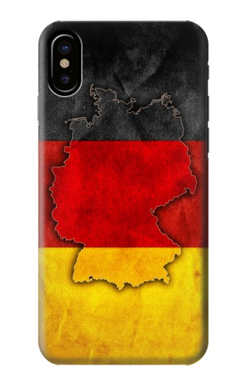 Printed Germany Flag Map HTC One M9+ Case