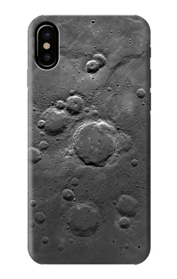 Printed Moon Surface HTC One M9+ Case