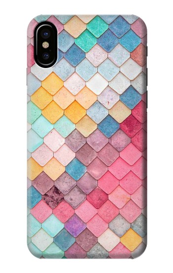 Printed Candy Minimal Pastel Colors HTC One M9+ Case