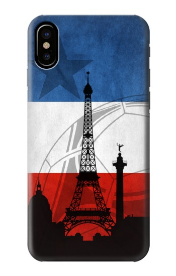 Printed France Football Flag HTC One M9+ Case