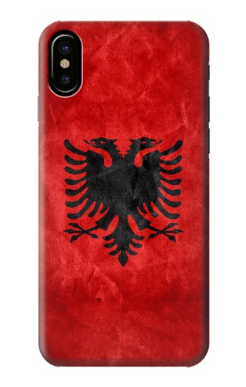 Printed Albania Red Flag HTC One M9+ Case