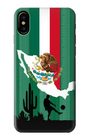 Printed Mexico Football Flag HTC One M9+ Case