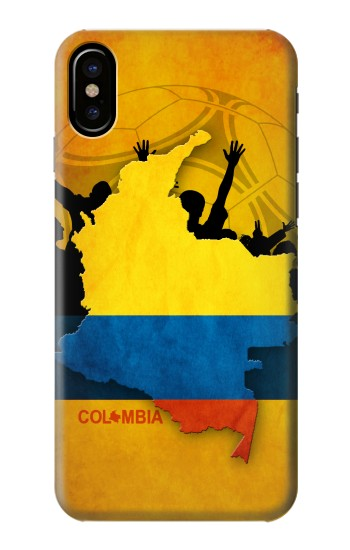 Printed Colombia Football Flag HTC One M9+ Case