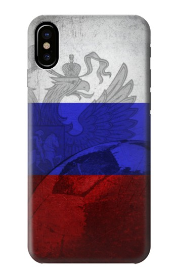 Printed Russia Football Flag HTC One M9+ Case