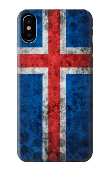 Printed Iceland Football Flag HTC One M9+ Case