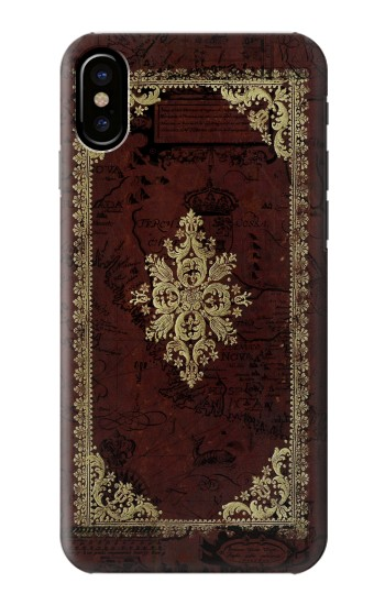 Printed Vintage Map Book Cover HTC One M9+ Case