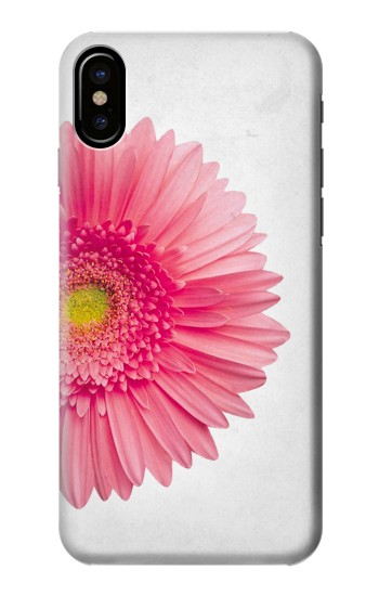 Printed Vintage Pink Gerbera Daisy HTC One M9+ Case