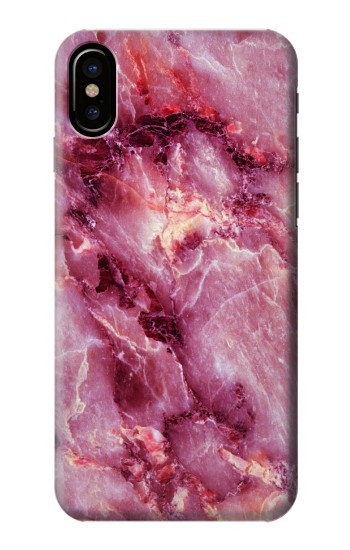 Printed Pink Marble Texture HTC One M9+ Case