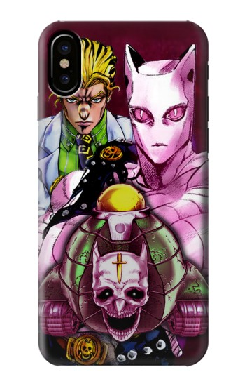 Printed Jojo Bizarre Adventure Kira Yoshikage Killer Queen HTC One M9+ Case