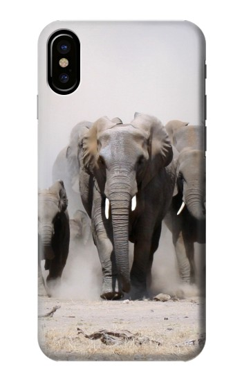Printed African Elephant HTC One M9+ Case
