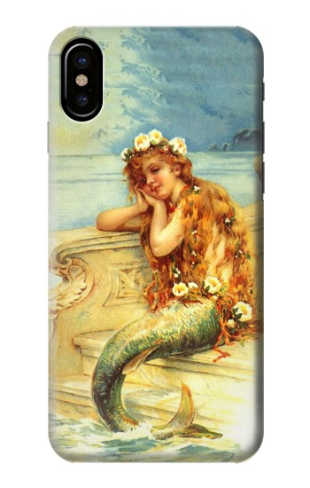 Printed Little Mermaid Painting HTC One M9+ Case