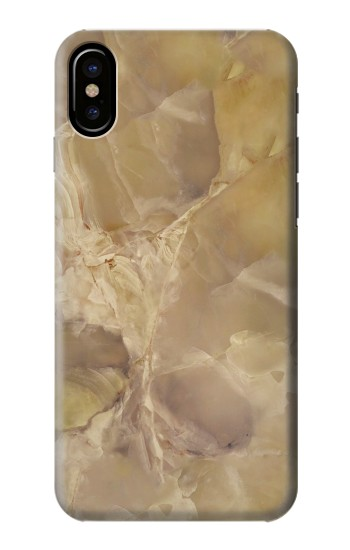 Printed Yellow Marble Stone HTC One M9+ Case
