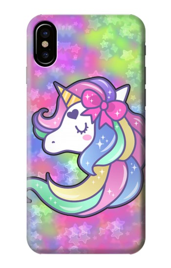 Printed Pastel Unicorn HTC One M9+ Case
