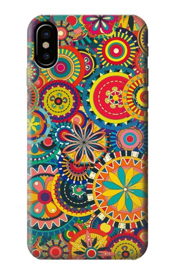 Printed Colorful Pattern HTC One M9+ Case