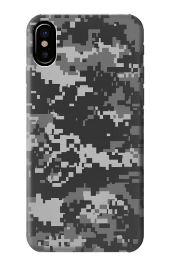 Printed Urban Black Camouflage HTC One M9+ Case