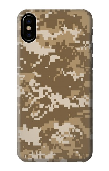 Printed Army Camo Tan HTC One M9+ Case