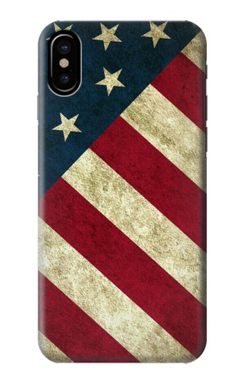 Printed US National Flag HTC One M9+ Case