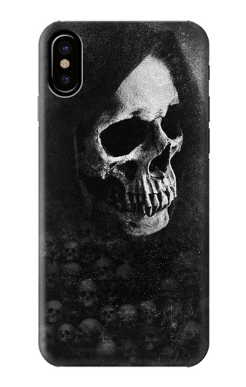 Printed Death Skull HTC One M9+ Case