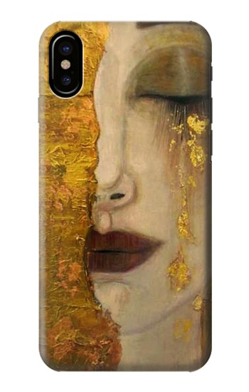 Printed Gustav Klimt Golden Tears HTC One M9+ Case