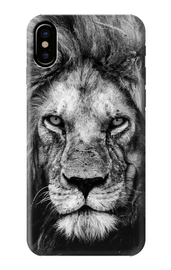 Printed Lion Face HTC One M9+ Case