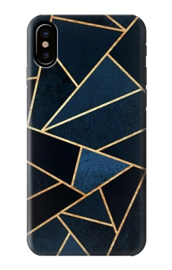 Printed Navy Blue Graphic Art HTC One M9+ Case