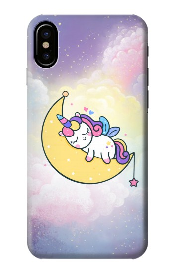 Printed Cute Unicorn Sleep HTC One M9+ Case