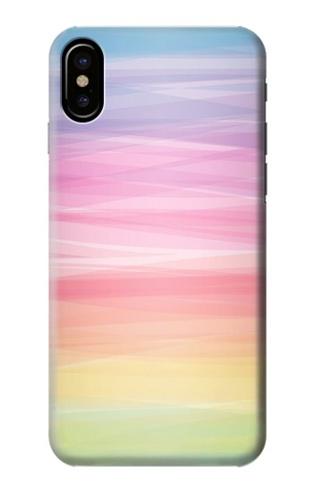 Printed Colorful Rainbow Pastel HTC One M9+ Case