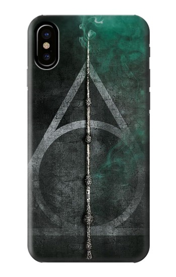 Printed Harry Potter Magic Wand HTC One M9+ Case