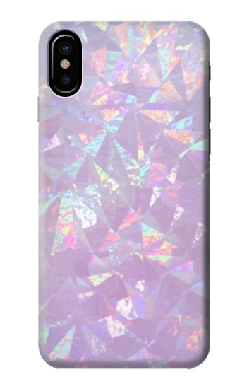 Printed Iridescent Holographic Photo Printed HTC One M9+ Case