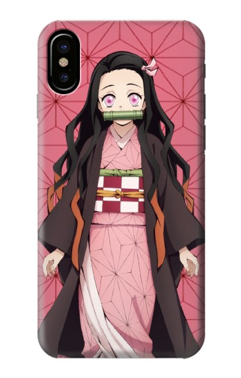 Printed Demon Slayer Kimetsu no Yaiba Nezuko HTC One M9+ Case