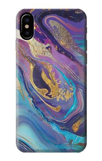 Printed Colorful Abstract Marble Stone HTC One M9+ Case