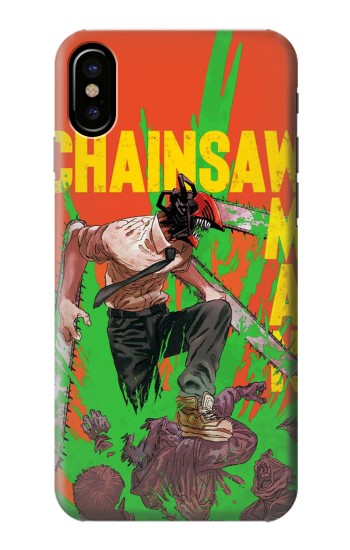 Printed Chainsaw Man HTC One M9+ Case